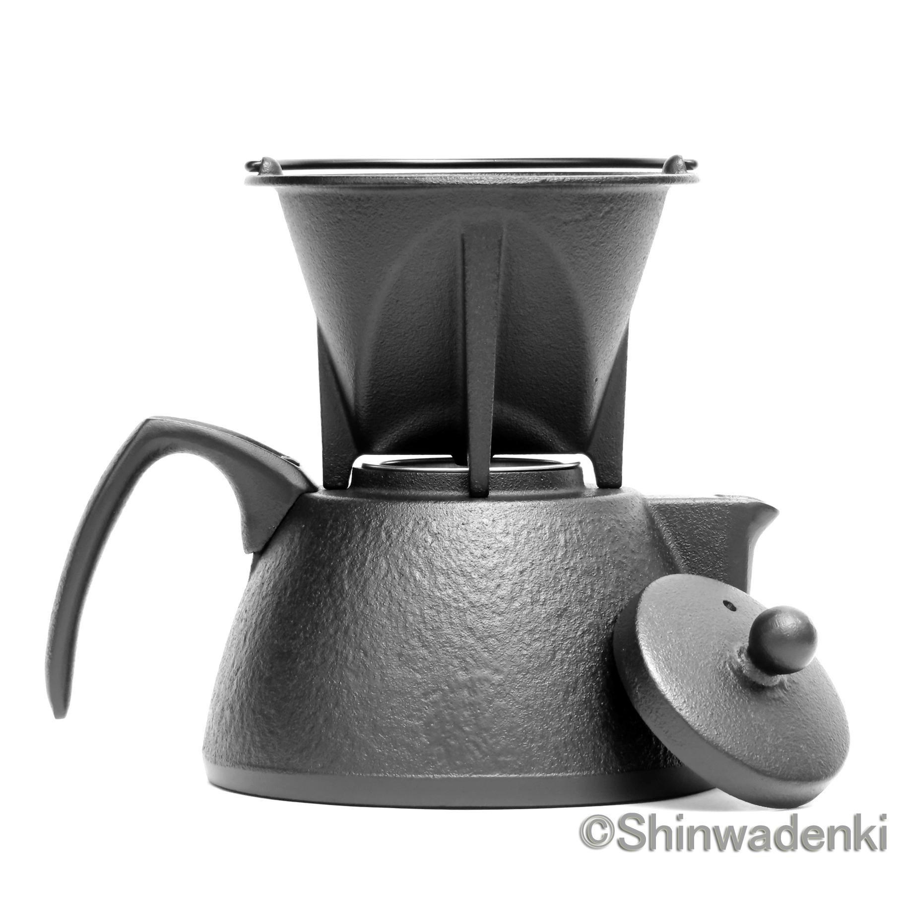 南部鉄器 コーヒーポットセット