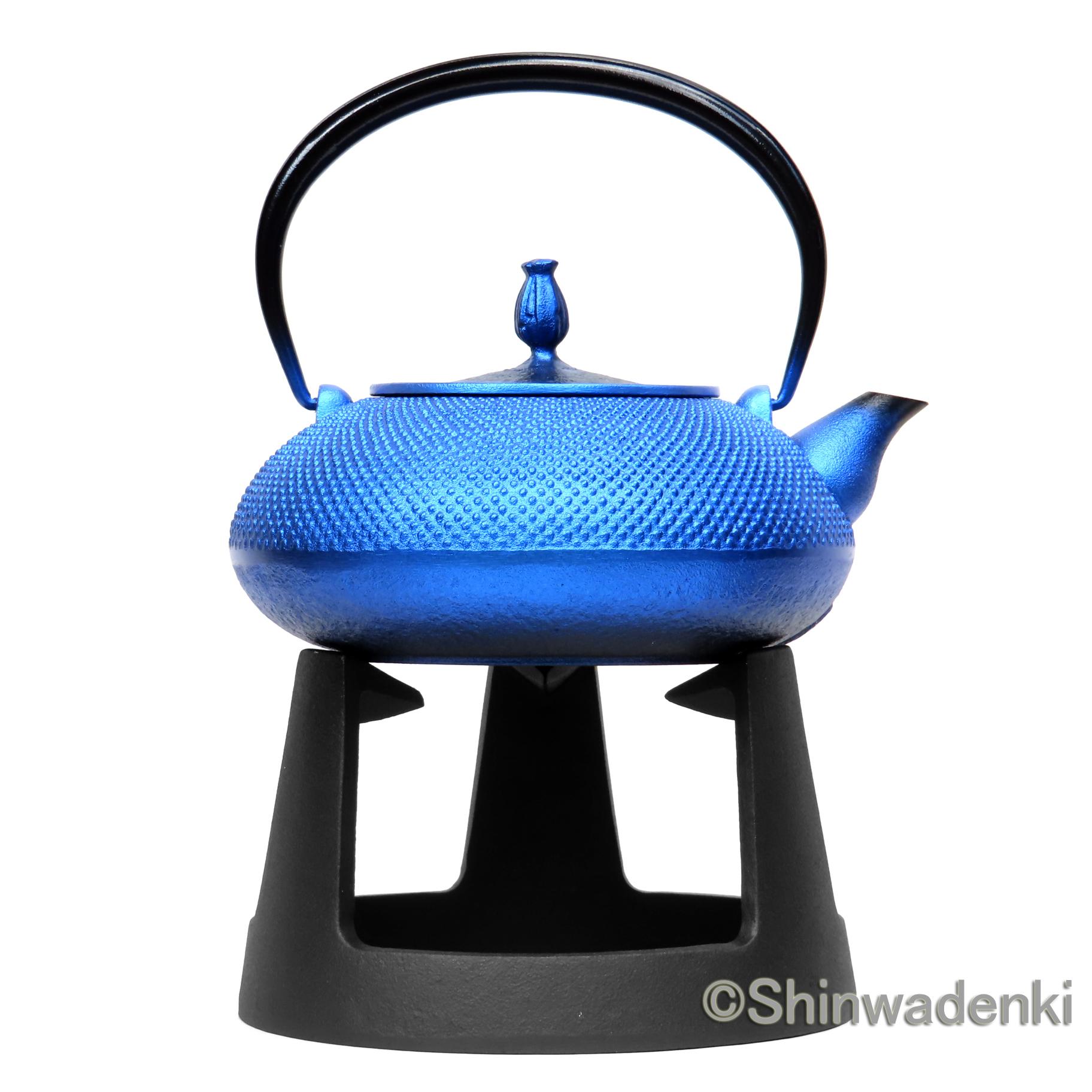 平丸アラレ(鉄蓋)瑠璃色