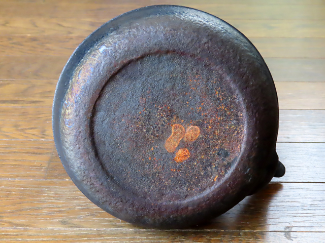 南部鉄器 鉄瓶 錆